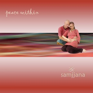 samjjana Peace within cover